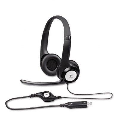 Logitech, Inc H390 Usb Headset with Noise-Canceling Headphones