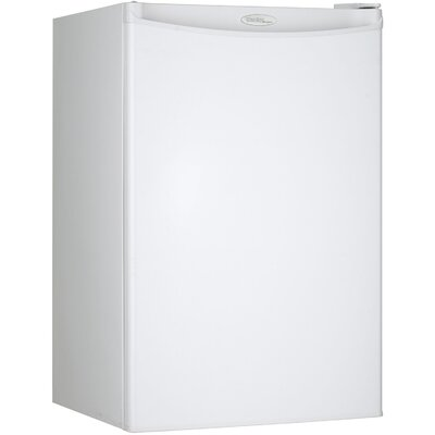 Compact 4.4 cu. ft. Compact Refrigerator with Freezer by Danby