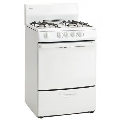 3 Cu. Ft. Gas Range in White Product Photo
