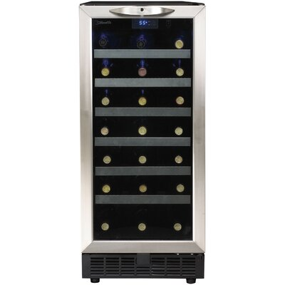 Silhouette 34 Bottle Single Zone Freestanding Wine Refrigerator by Danby