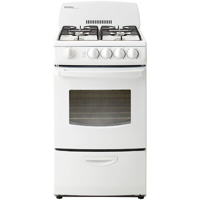 2.4 Cu. Ft. Gas Range in White Product Photo