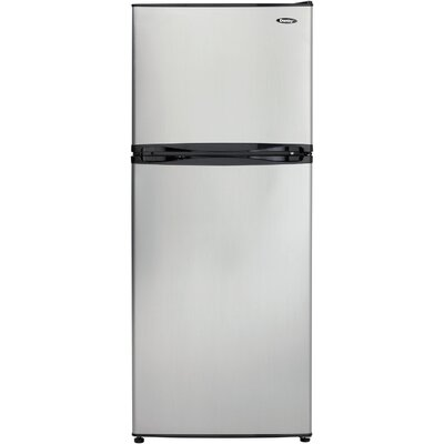 10 cu. ft. Top Freezer in Silver Product Photo