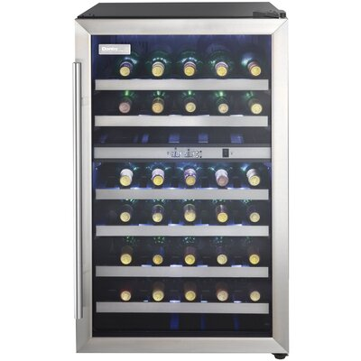 38 Bottle Dual Zone Freestanding Wine Refrigerator by Danby