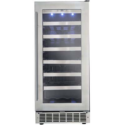 Professional 34 Bottle Single Zone Built-In Wine Refrigerator by Danby