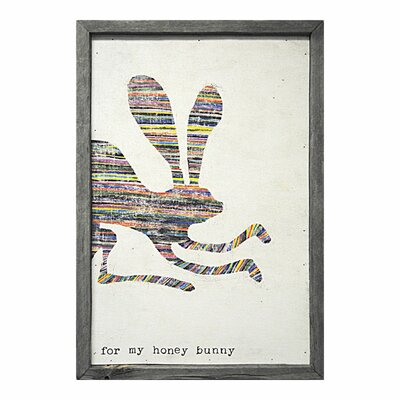 Sugarboo Designs For My Honey Bunny Framed Painting Print