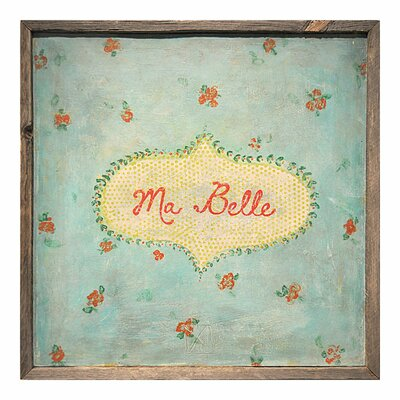 Sugarboo Designs Ma Belle Framed Painting Print