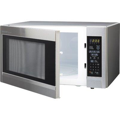 Sharp 1.8 Cu. Ft. 1100W Countertop Microwave & Reviews Wayfair