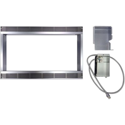 "27"" Built-In Microwave Trim Kit Product Photo"