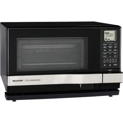 1.0 Cu. Ft. 900W Countertop Microwave in Black Product Photo