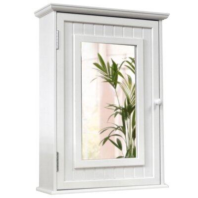 Techstyle Mirror Bathroom Wall Storage Cabinet Reviews Wayfair Uk