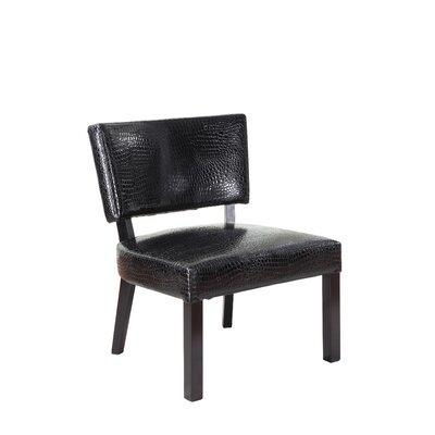Crocodile Print Slipper Chair by Powell