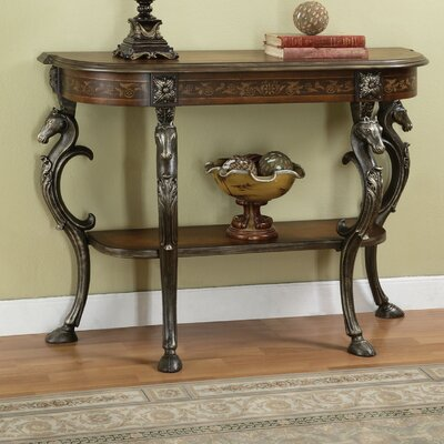 Masterpiece Wild Horses Console Table by Powell