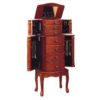 Powell Jewelry Armoire with Mirror & Reviews | Wayfair