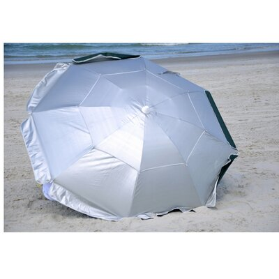 6' Dual Canopy Beach Umbrella by Solar Guard