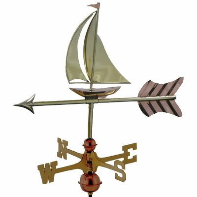 Good Directions Sailboat Weathervane