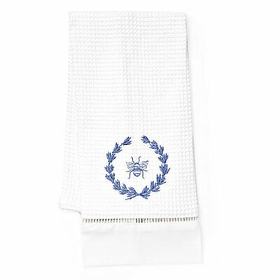 Jacaranda Living Bee Wreath Hand Towel
