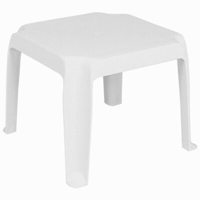 Sunray Resin Square Side Table by Compamia