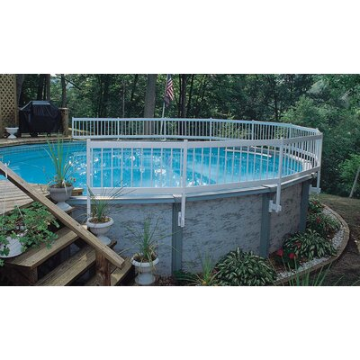 GLI Pool Products Above Ground Pool Fence Add-On Kit