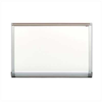 Marsh Contractor's Series Magnetic Wall Mounted Whiteboard