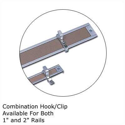 Marsh .5Map Rail Accessories - Combination Hook/Clip