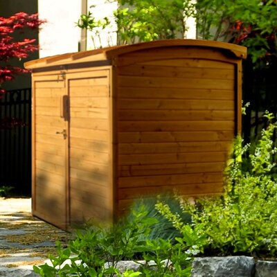 Leisure Season 5 Ft. W x 3 Ft. D Wood Storage Shed
