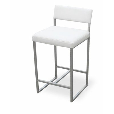Gus Modern Graph 24 Quot Bar Stool With Cushion