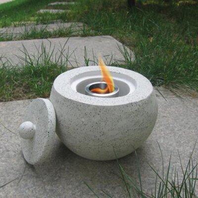 Deeco Terrazzo Tabletop Fireplace