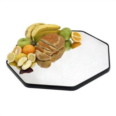 Octagonal Food Display Mirror by Buffet Enhancements