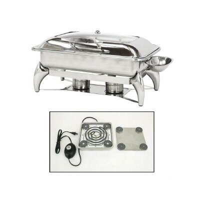 Electric New Age Rectangular Chafing Dish by Buffet Enhancements
