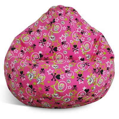 Print and Plush Bean Bag Chair by Elite Products