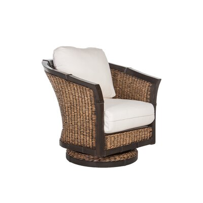 Bayshore Fabric Swivel Rocker Glider by Acacia Home and Garden