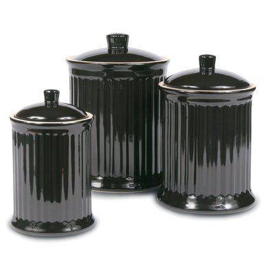Omniware Simsbury 3 Piece Canister Set