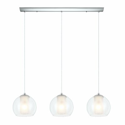 Bolsano 3 Light Kitchen Island Pendant Product Photo