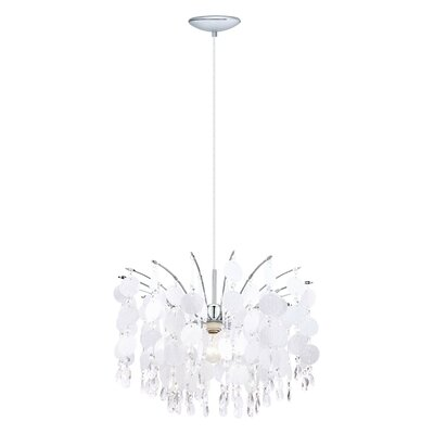 Fedra 1 Light Crystal Chandelier Product Photo
