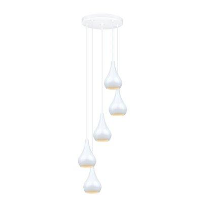 Nibbia 5 Light Pendant by EGLO