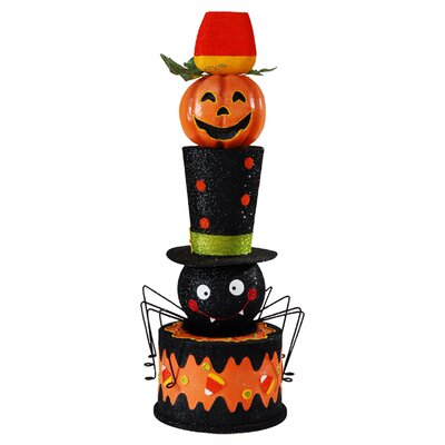 C & F Enterprises Halloween Stacked Display Figurine
