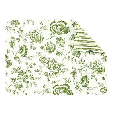 Devon Reversible Quilt Scallop Placemat by C & F Enterprises