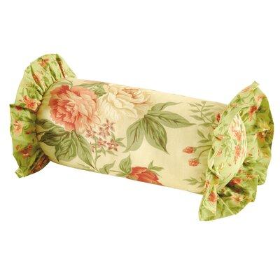 Garden Dream Neckroll Cotton Bolster Pillow by C & F Enterprises