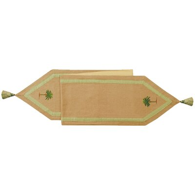 Cabana Palm Table Runner by C & F Enterprises