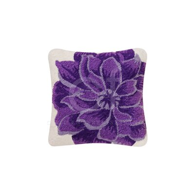 C Amp F Enterprises Dahlia Canvas Accent Cotton Throw Pillow