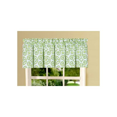 "Boxwood Abbey 80"" Curtain Valance Product Photo"