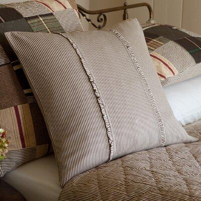 Taylor Linens Farmhouse Stripe Porch Cotton Throw Pillow