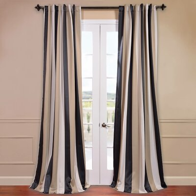 Georgetown Blackout Single Curtain Panel Product Photo