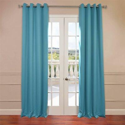 Plush Grommet Blackout Curtain Pair (Set of 2) Product Photo