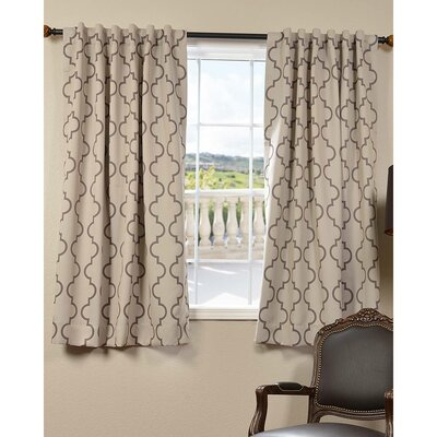 Seville Single Curtain Panel Product Photo