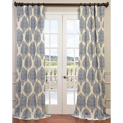Arabesque Twill Single Curtain Panel Product Photo