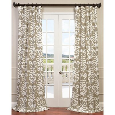 Sri Lanka Twill Single Curtain Panel Product Photo