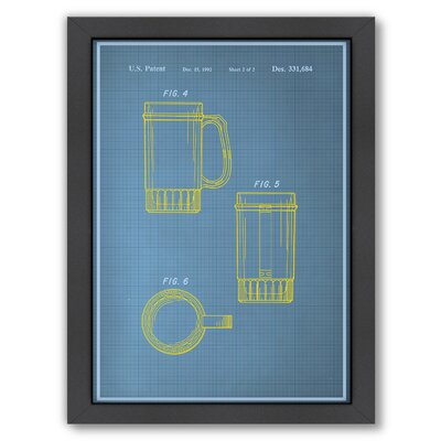 Beer Stein II Graphic Art by Americanflat
