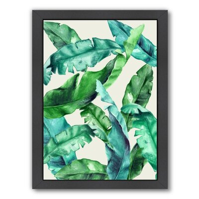 Urban Road Tropical 1 Painting Print by Americanflat