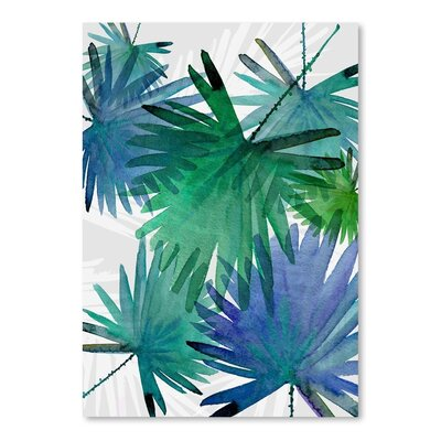 Urban Road Tropical 3 Poster Painting Print by Americanflat